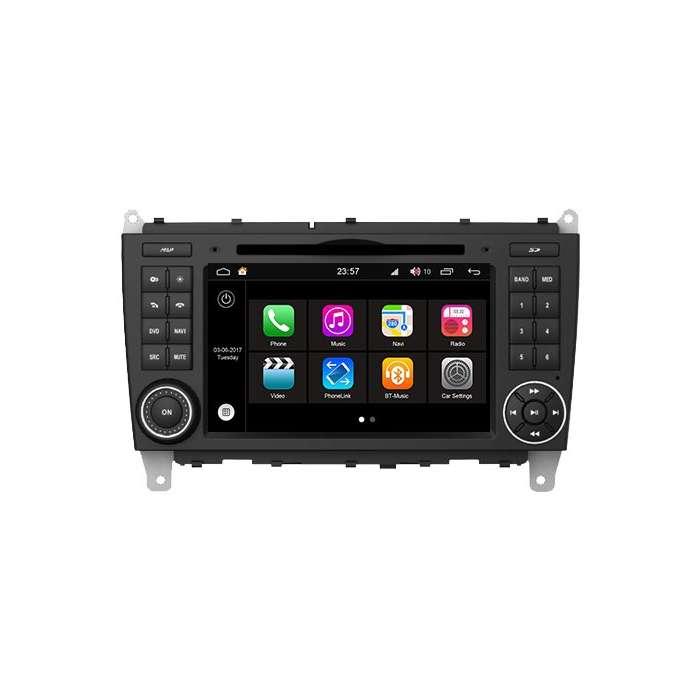 """Radio DVD Navegador S200 para Mercedes Clase C (7"""")"""