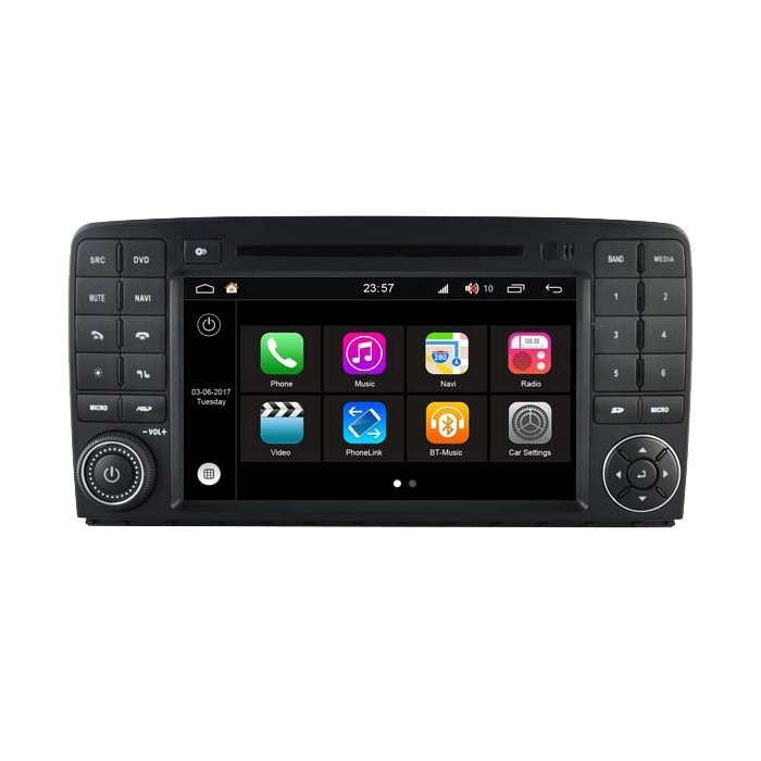 """Radio DVD Navegador GPS Android S200 para Mercedes Clase R (8"""")"""