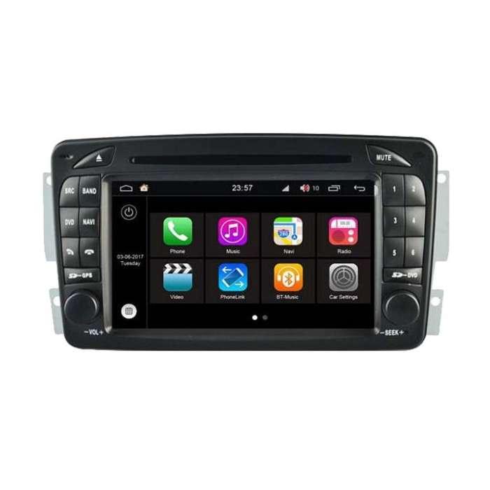 """Radio DVD Navegador S200 para Mercedes (7"""")"""