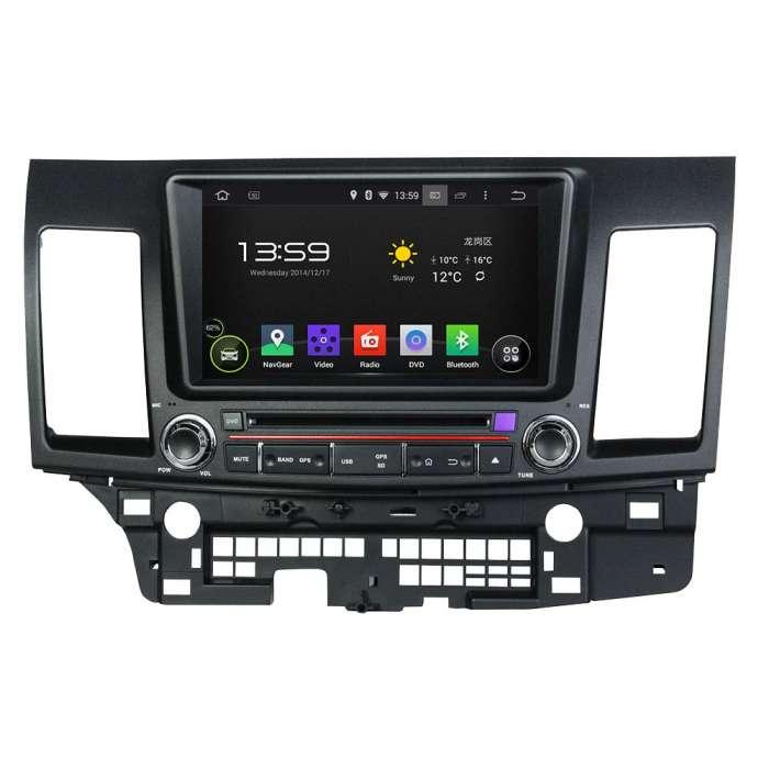 """Radio DVD Navegador GPS Android para Mitsubishi Lancer (7"""")"""