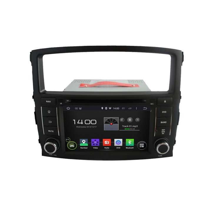 "Radio DVD Navegador GPS Android para Mitsubishi Montero / Pajero (8"")"