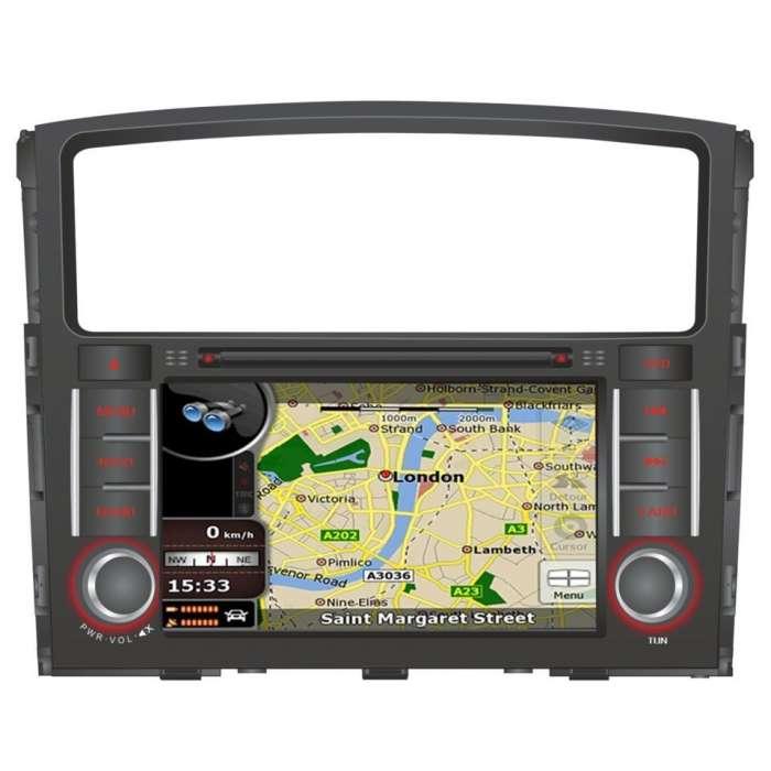 "Radio DVD Navegador GPS Android para Mitsubishi Montero / Pajero (7"")"