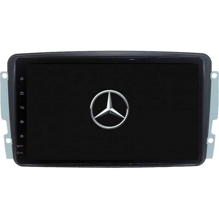 """Radio Navegador GPS Android para Mercedes Benz (8"""")"""