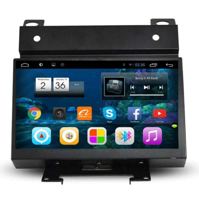 "Radio Navegador GPS Android para Land Rover Freelander 2 (7"")"