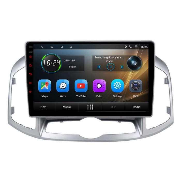 "Radio Navegador GPS Android para Chevrolet Captiva (10,2"")"