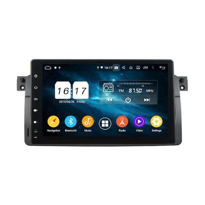 "Radio Navegador GPS Android para BMW Serie 3 (8"")"