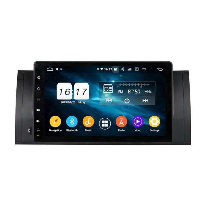 "Radio Navegador GPS Android para BMW Serie 5 / X5 (8"")"