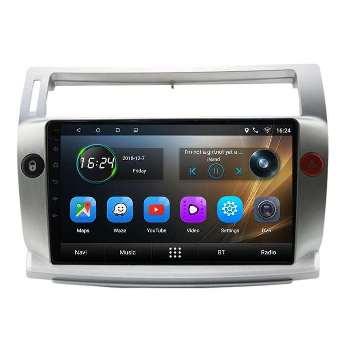 "Radio Navegador GPS Android para Citroen C4 (9"")"