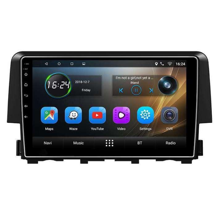 """Radio Navegador GPS Android para Honda Civic (9"""")"""