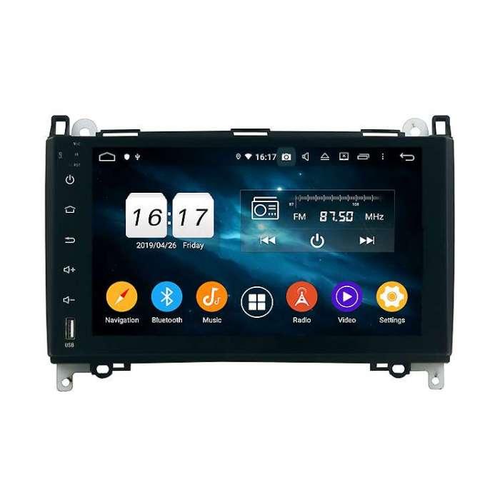 """Radio Navegador GPS Android para Mercedes Benz A / B / Vito (9"""")"""
