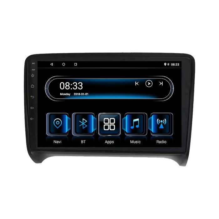 """Radio Navegador GPS Android para Audi TT (8"""")"""