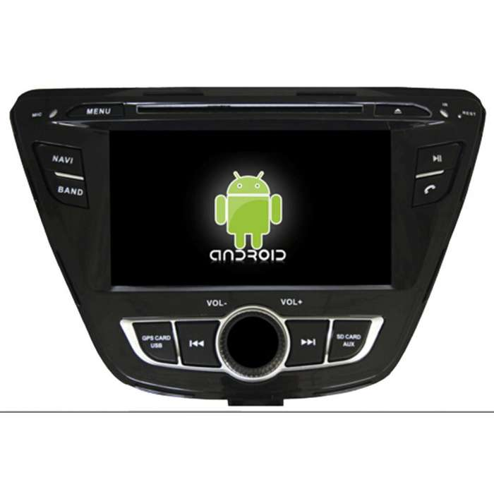 "Radio DVD Navegador GPS Android para Hyundai Elantra (7"")"