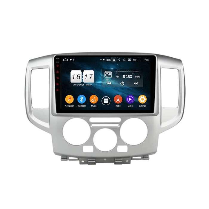 """Radio Navegador GPS Android para Nissan NV200 (9"""")"""
