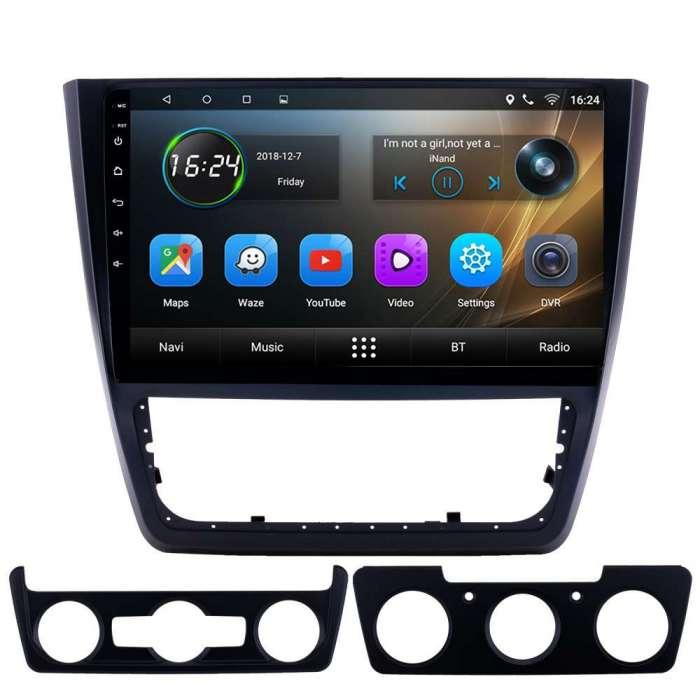 """Radio Navegador GPS Android para Skoda Yeti (10,2"""")"""