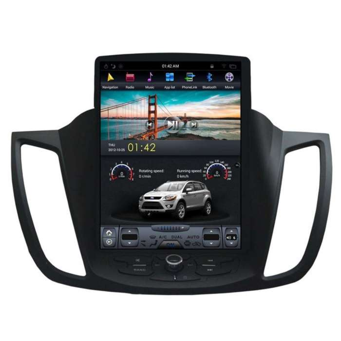 "Radio Navegador Android Tipo Tesla Ford C-Max (12,1"")"