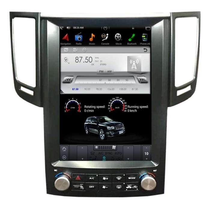 "Radio Navegador Android Tipo Tesla para Infiniti FX / QX (12,1"")"