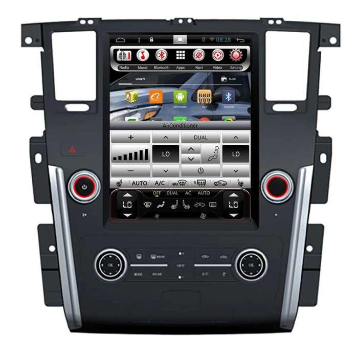 """Radio Navegador Android Tipo Tesla para Infiniti QX80 (12,1"""")"""