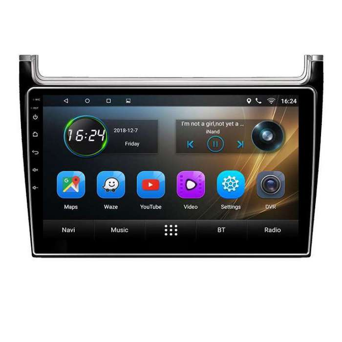 "Radio Navegador GPS Android para Volkswagen Polo (9"")"