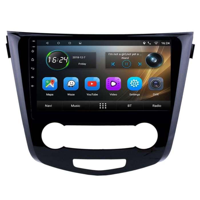 """Radio Navegador GPS Android para Nissan Qashqai (10,2"""")"""