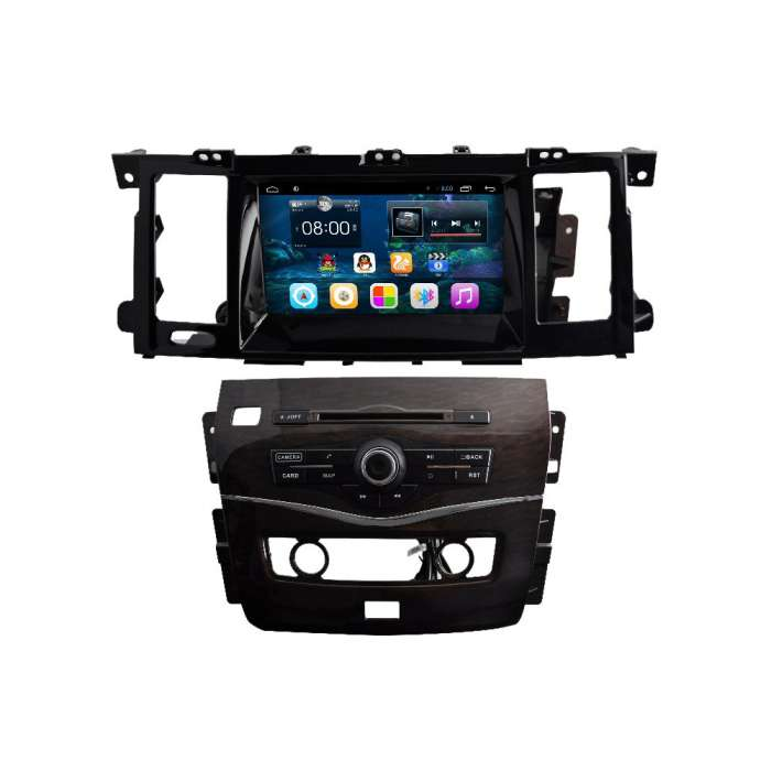 "Radio Navegador GPS Android para Nissan Patrol (8"")"