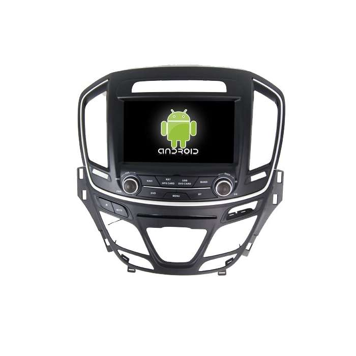 "Radio DVD Navegador GPS 4G LTE Android para Opel Insignia (8"")"