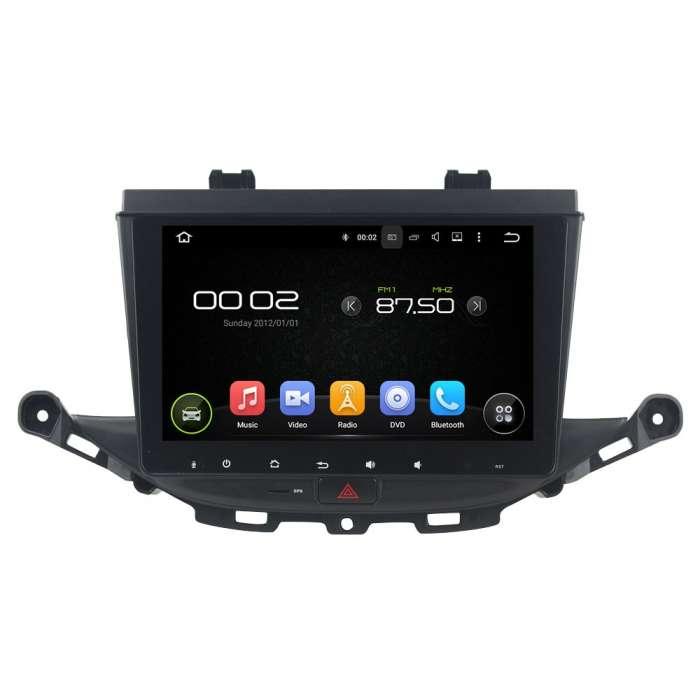 "Radio DVD Navegador GPS HD Android Puro para Opel Astra K (8"")"