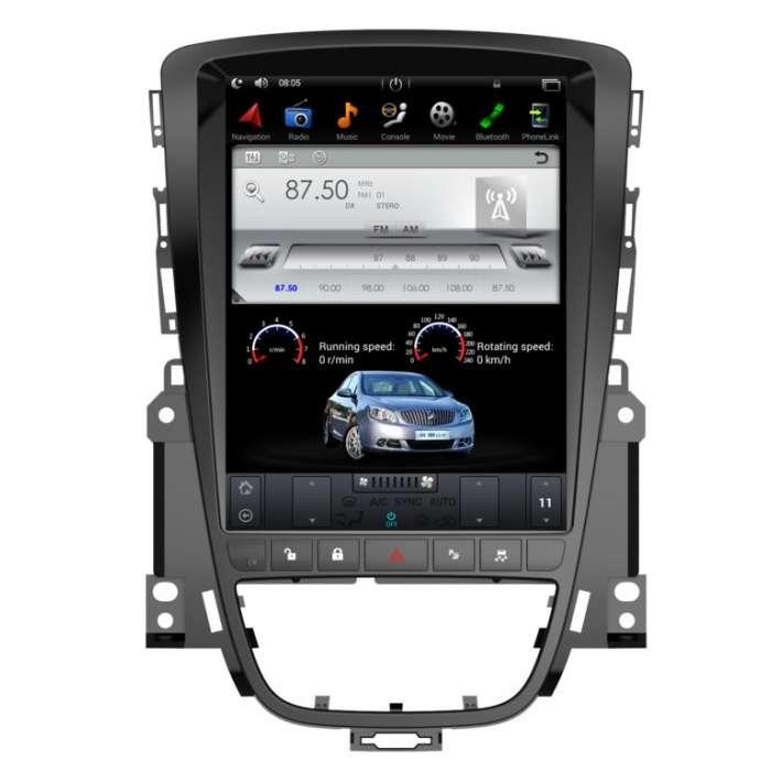 "Radio Navegador GPS Android Tipo Tesla para Opel Astra J (10,4"")"
