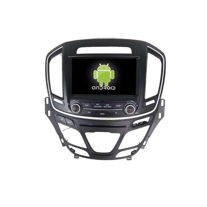 "Radio DVD Navegador GPS HD Android Puro para Opel Insignia (8"")"