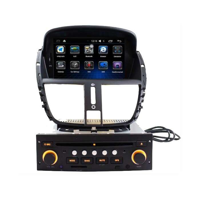 """Radio Monitor GPS Android para Peugeot 207 (7"""")"""