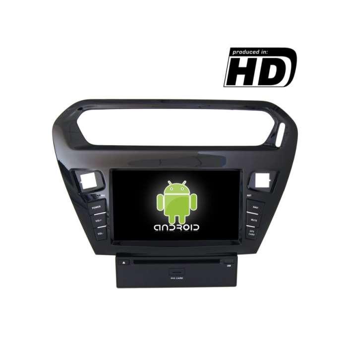 "Radio DVD Navegador GPS 4G LTE Android para Peugeot 301 (7"")"