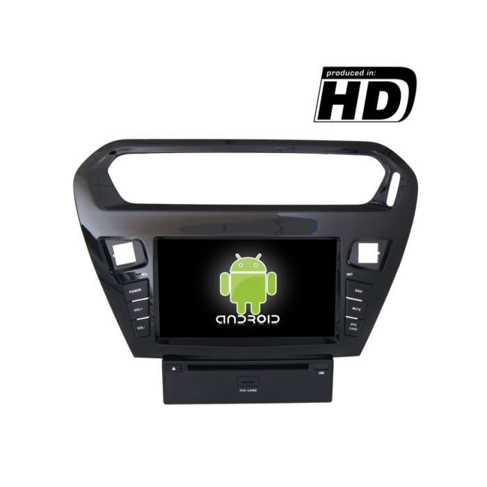 "Radio DVD Navegador GPS Android para Peugeot 301 (7"")"