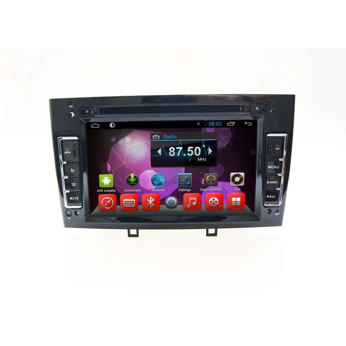 "Radio Navegador GPS Android para Peugeot 308 / 408 (7"")"