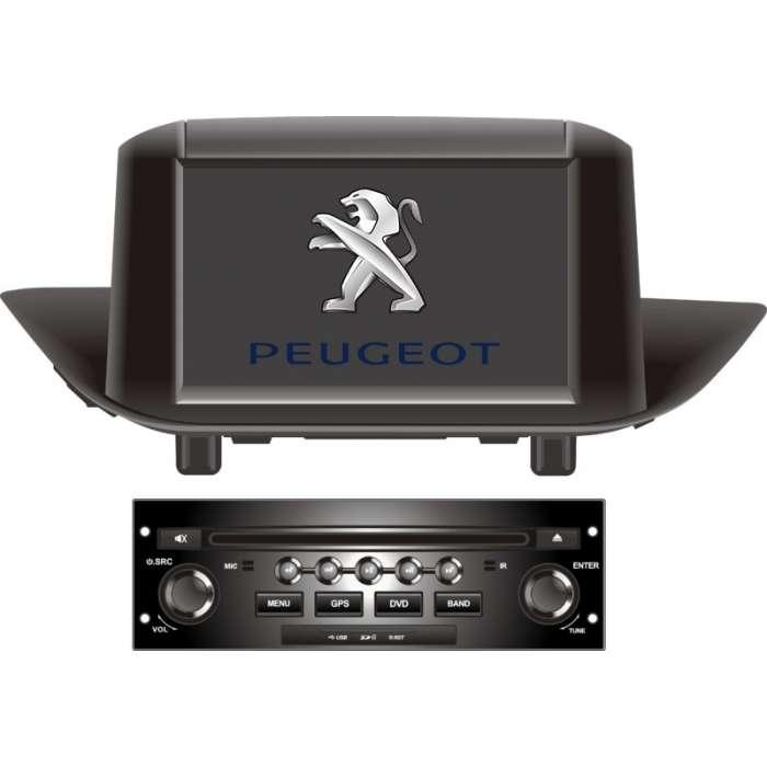 """Radio Monitor GPS Android para Peugeot 308 (7"""")"""