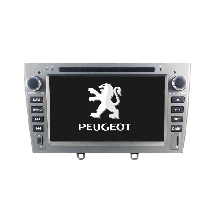 """Pantalla GPS Android Octa Core para Peugeot 308 / 408 (7"""")"""