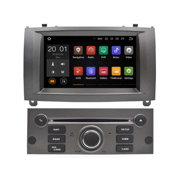"""Pantalla Navegador GPS Android para Peugeot 407 (7"""")"""