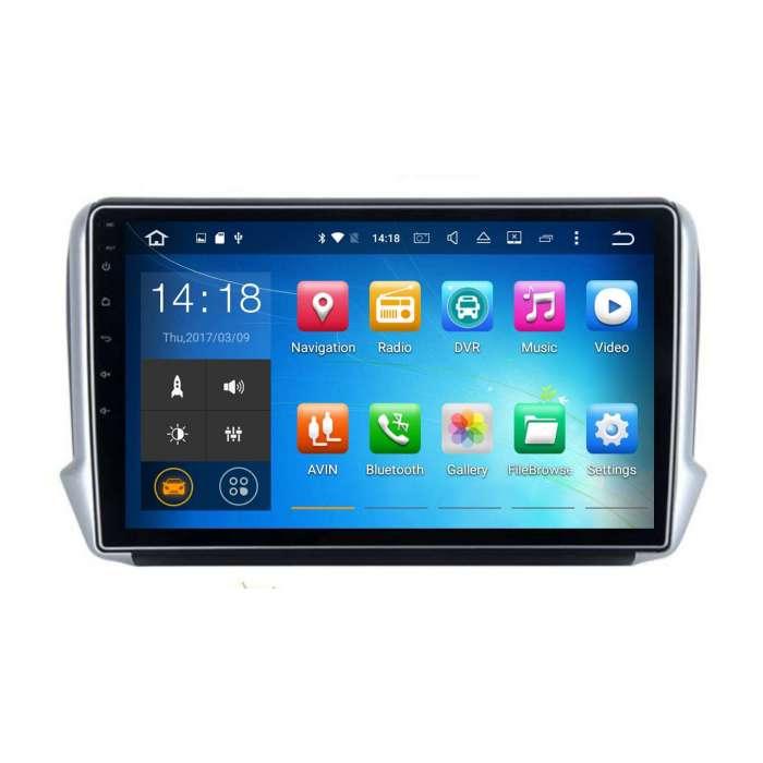 """Navegador GPS Android para Peugeot 208 / 2008 (10,2"""")"""