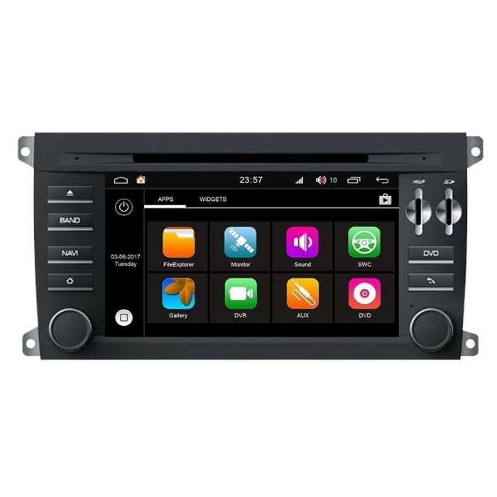 """Radio DVD Navegador Modelo S200 Android para Porsche Cayenne (7"""")"""