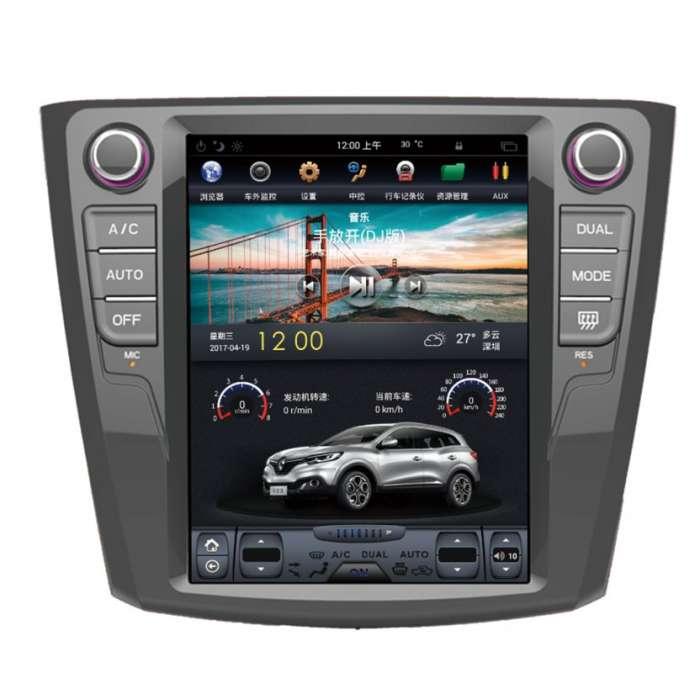 """Radio Navegador GPS Android Tipo Tesla para Renault Kadjar (10,4"""")"""