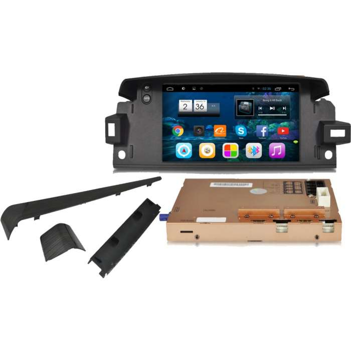 "GPS Táctil Android para Renault Latitude (7"")"