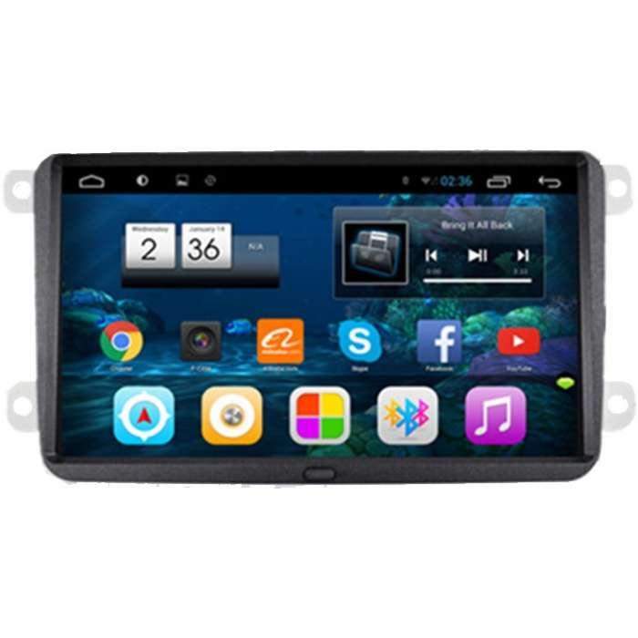 "Radio Monitor Navegador GPS Android para Volkswagen / Seat / Skoda (9"")"