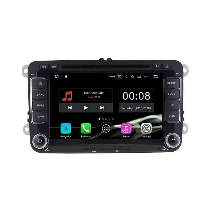 "Radio DVD Navegador GPS Android para Volkswagen / Seat / Skoda (7"")"