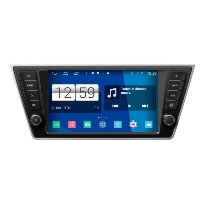 """Radio DVD Navegador Modelo S200 Android para Skoda Fabia (8"""")"""