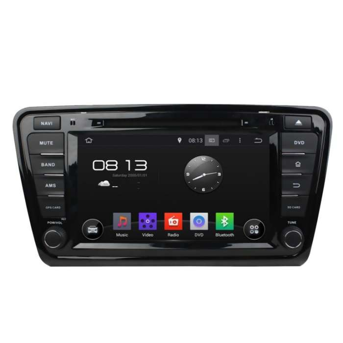 "Radio DVD Navegador GPS Android para Skoda Octavia (7"")"
