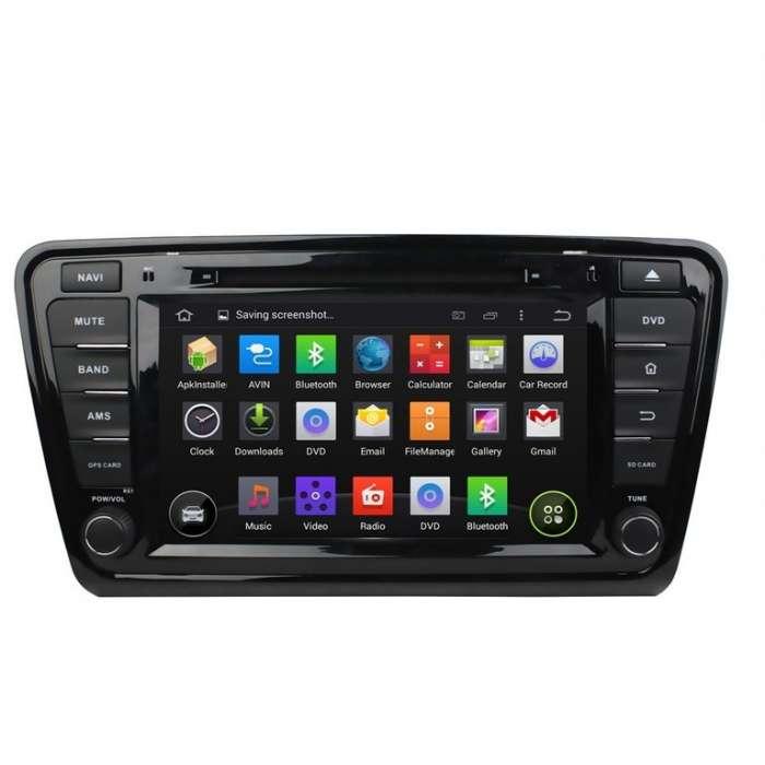 "Navegador GPS Octa Core Android para Skoda Octavia (7"")"