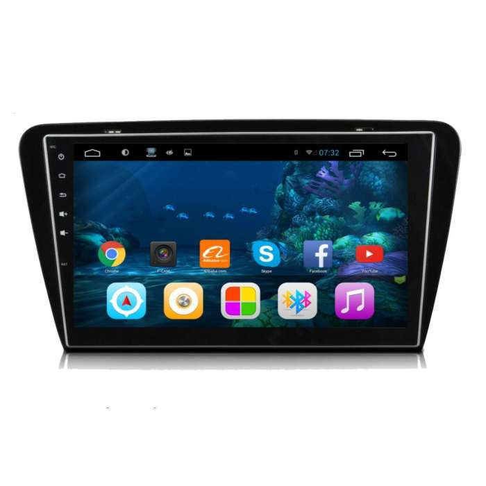 "Radio Navegador GPS Android para Skoda Octavia (10,2"")"