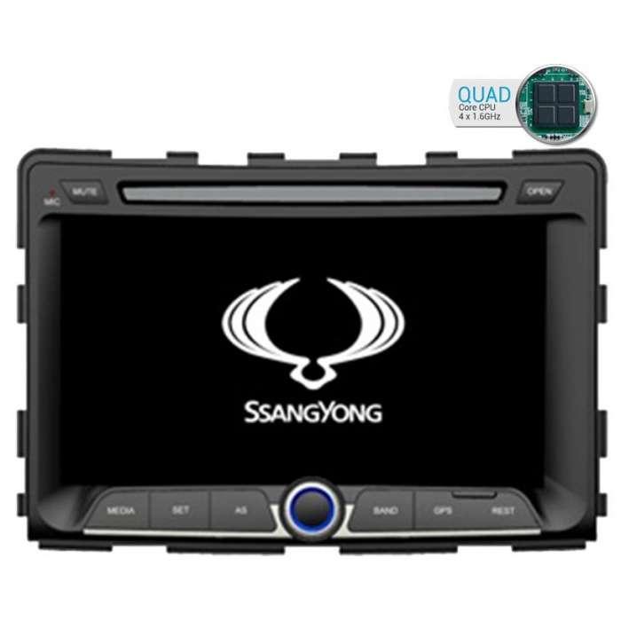 """Radio DVD Navegador GPS Android para SsangYong Rexton (7"""")"""