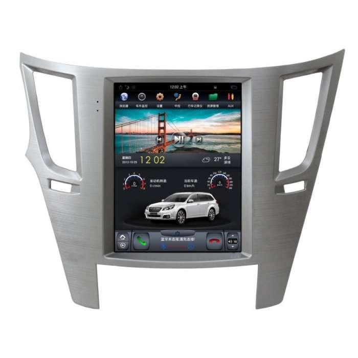 """Radio Navegador Android Tipo Tesla para Subaru Legacy (10,4"""")"""