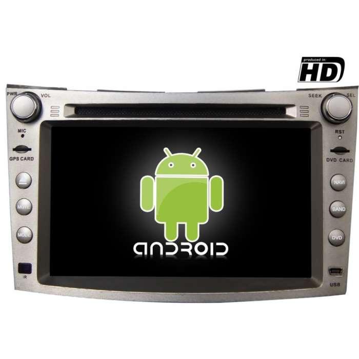 "Radio DVD Navegador GPS Android para Subaru Legacy / Outback (7"")"