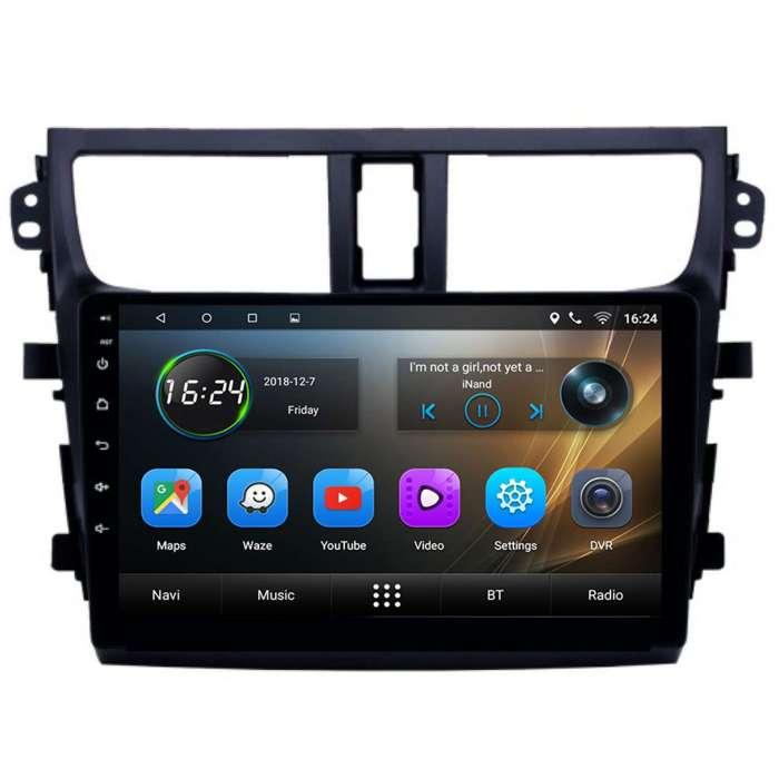 """Radio Navegador GPS Android para Suzuki Celerio (9"""")"""