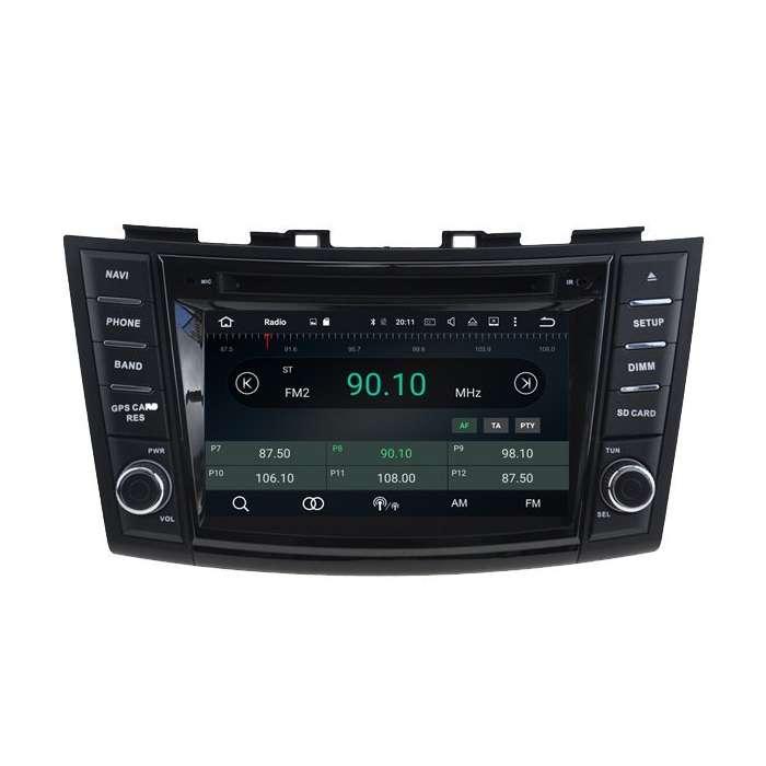 "Radio DVD Navegador GPS Android para Suzuki Swift (8"")"